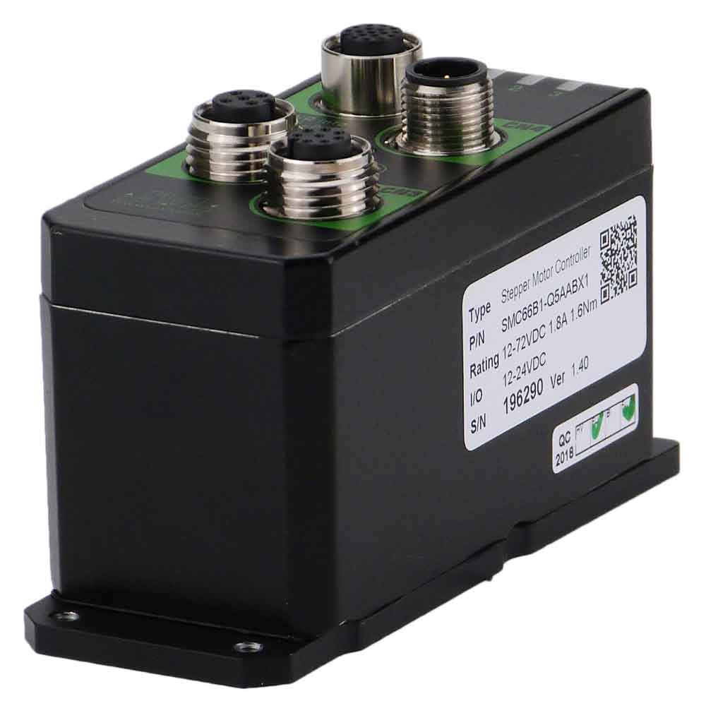 A Stepper Motor Controller with RS485 and CANbus serial interface