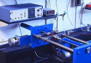 Jvl controller and mini step driver are used by tensile for Electric motor load testing equipment