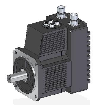Integrated servo motor in size 1500 3000 w is worlds most for Integrated servo motor and drive