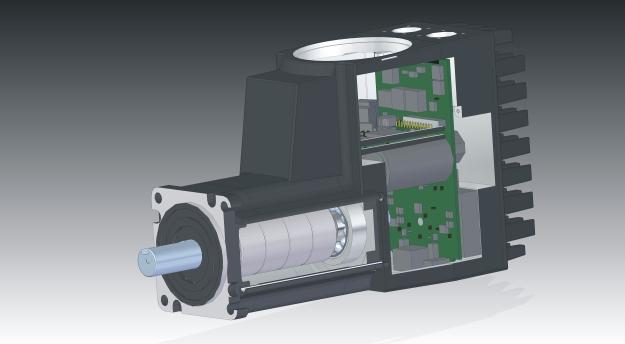 Jvl 39 s latest development in integrated servo motors mac400 for Jvl integrated servo motor