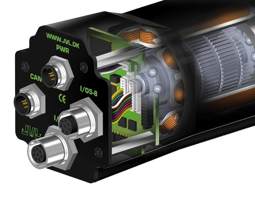 Integrated mini stepper motors with Highly innovative and ultra compact design