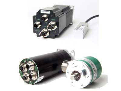 Linear and rotating encoders from JVL  Absolute multiturn and SSI