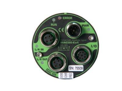 Industrial Ethernet for MAC motors