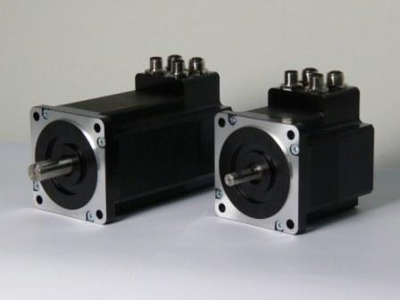 MIS / Quickstep integrated Stepper Motors from JVL