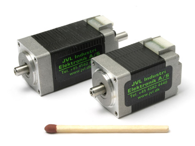 Mini stepper motors mst081a03 and mst082a03 from jvl industri for Very small stepper motor