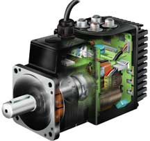 Smart integrated stepper motors with ingenious modular interface