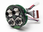 Innovative modular interface combined in a ultra compact integrated servomotor by danish JVL A/S