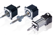 MSL Linear Stepper Motors without electronics inside.