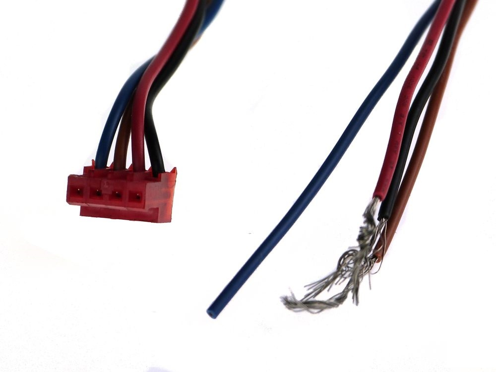 4 pol con. 4 wire. 1m. 0,5' for HEAD4LS motor connection