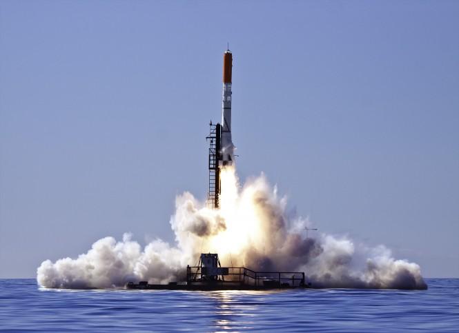 HEAT-1X rocket