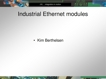 Industrial Ethernet protocol overview