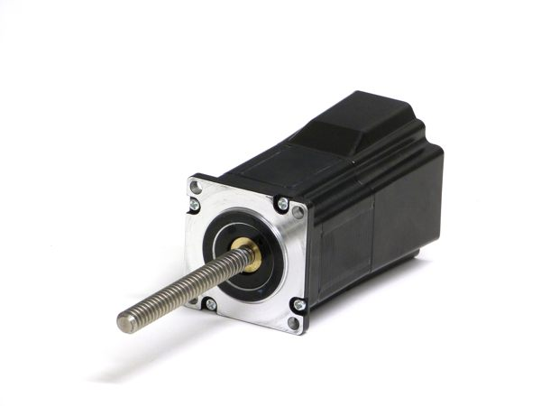 Linear stepper motors can dramatically reduce cost and save space.