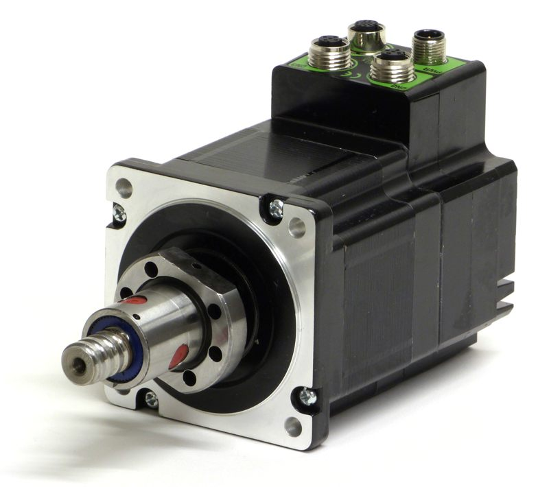 Stepper motors linear actuators by jvl industri elektronik for Servo motor linear actuator