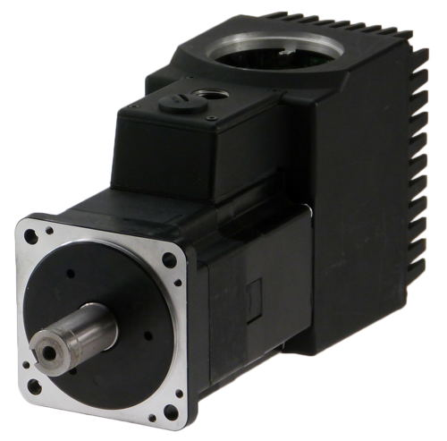 Brushless servo motor with integrated controller