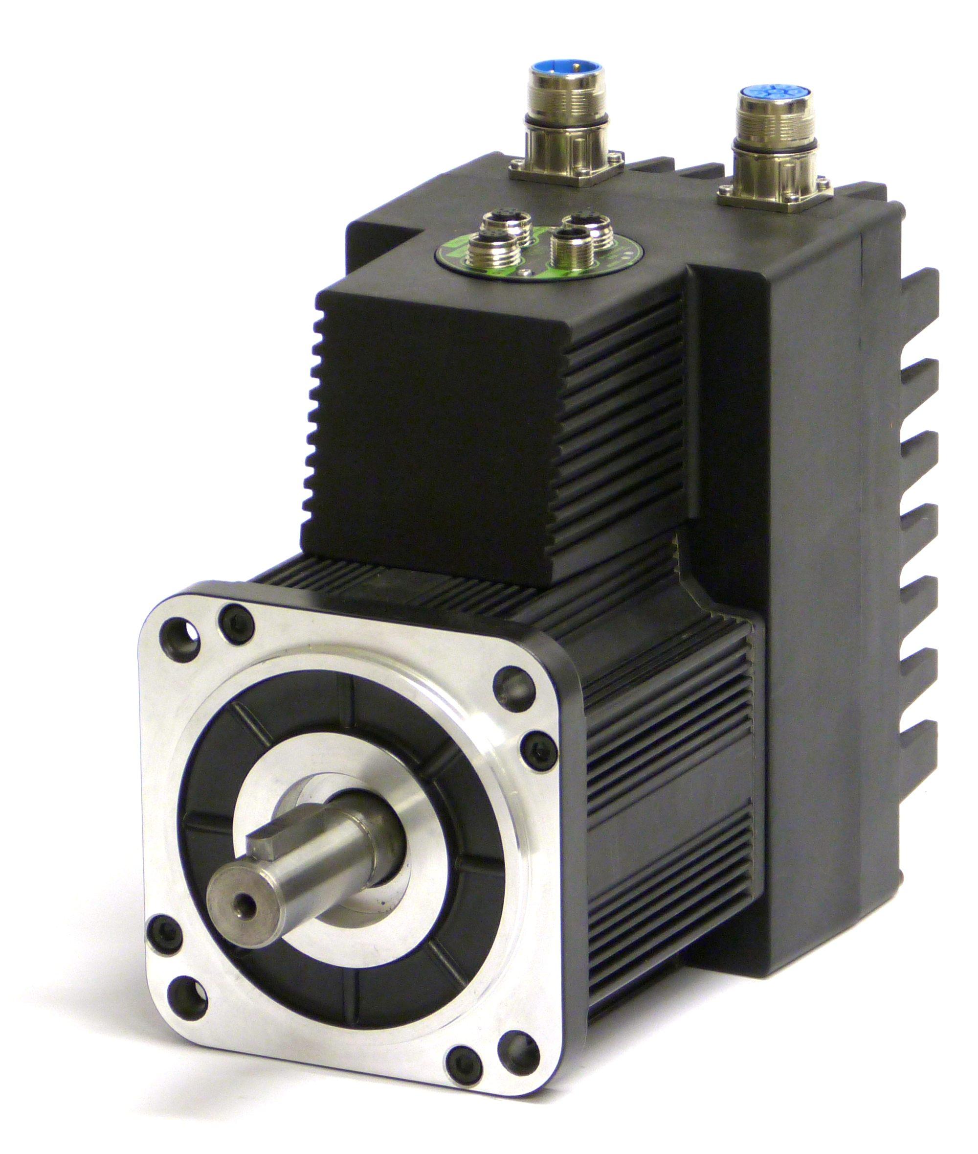 integrated servomotors mac motor series from jvl denmark