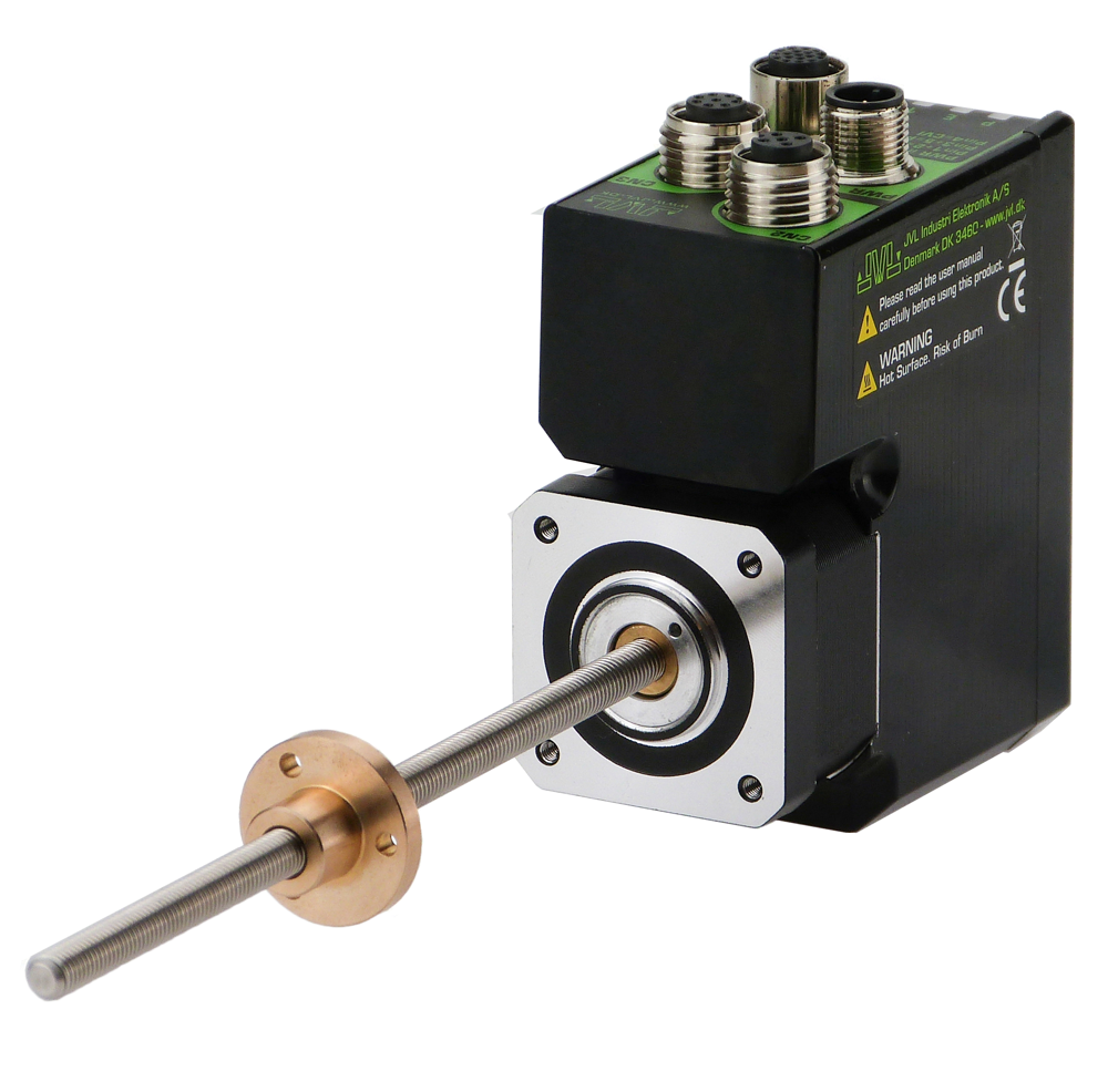 MIL Linear Stepper Motors with Integrated controller or driver.