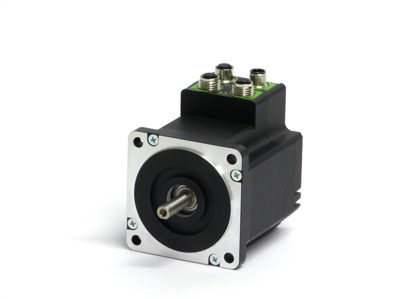 Stepper motor controller with plc canopen and 8io for How to program stepper motor with plc