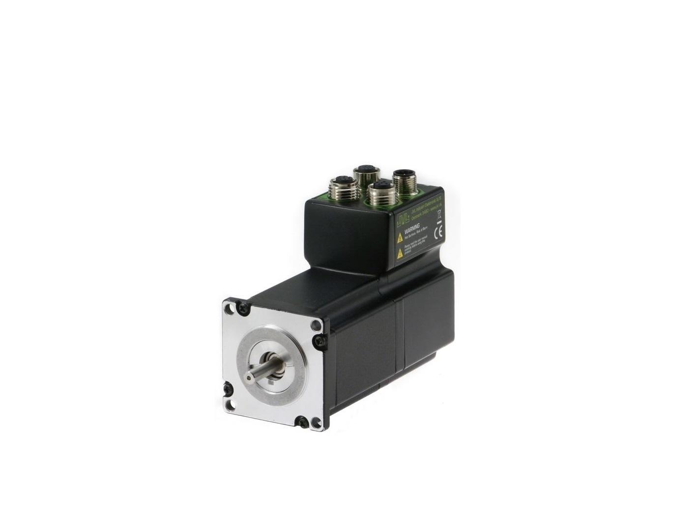 Cad 2d 3d pdf drawings for integrated stepper motors for Jvl integrated servo motor