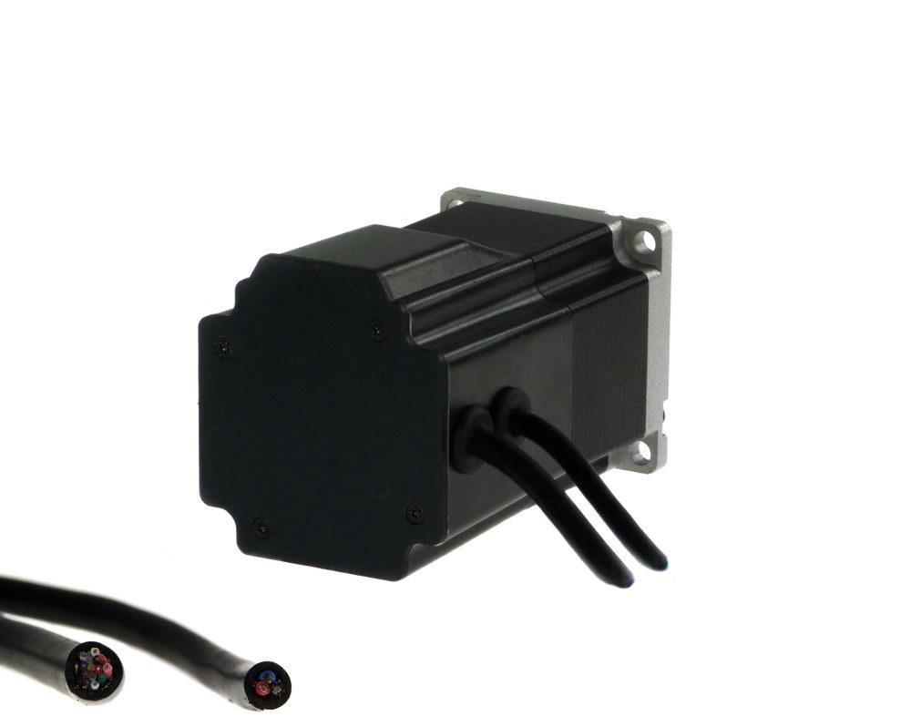 Jvl quickstep integrated stepper motors connection for Jvl integrated servo motor