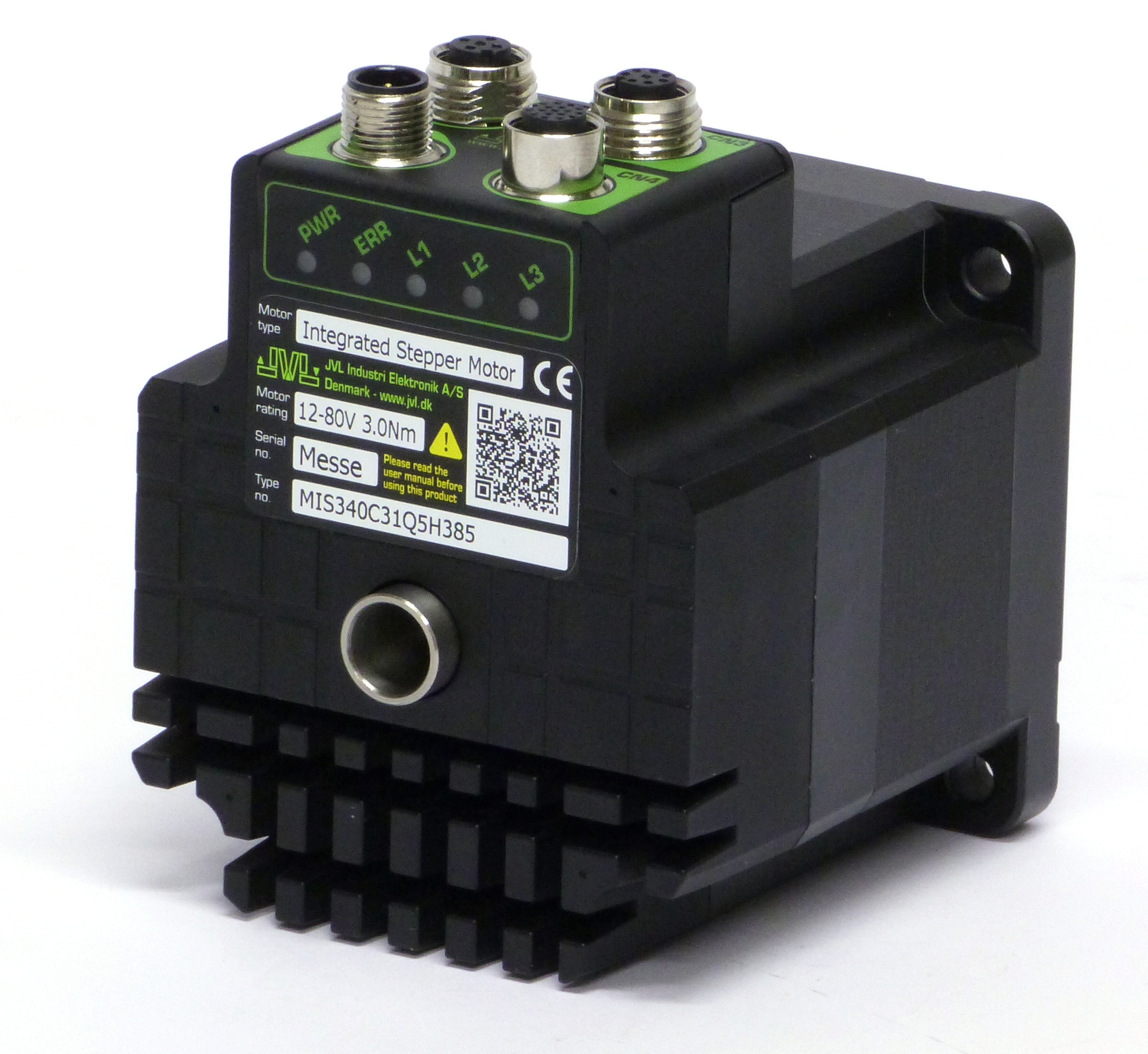 Quickstep Integrated Stepper Motor Series Mis340 Mis34 By Jvl