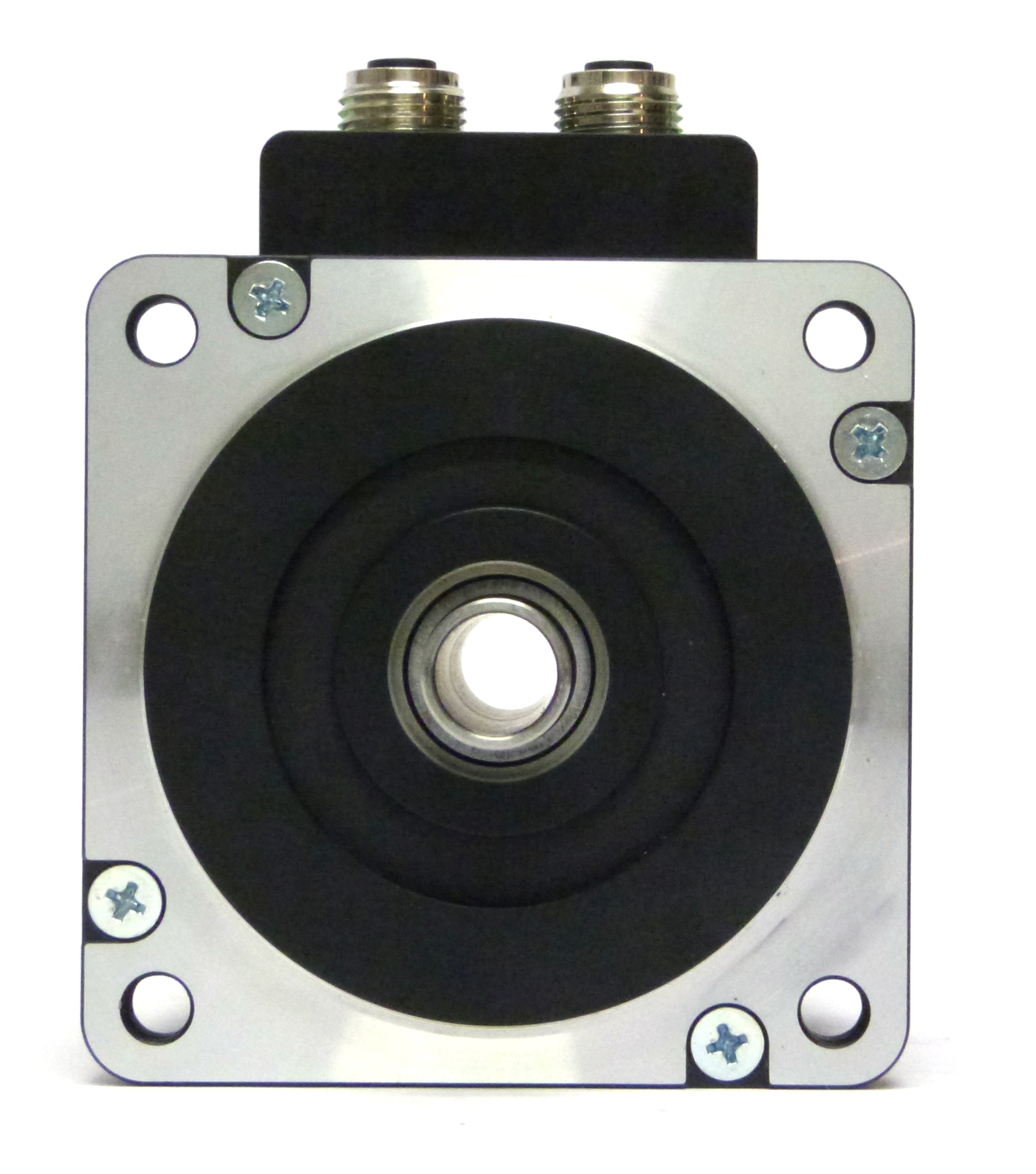 Integrated Stepper Motor Mis340 Available With Hollow Shaft