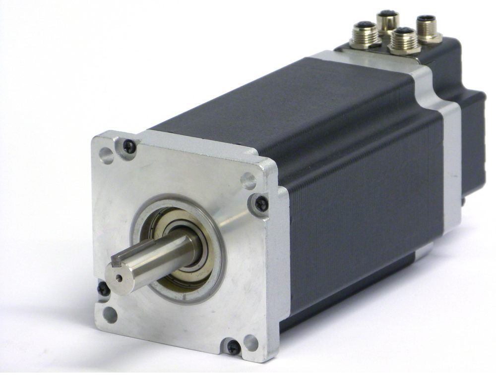 The Quickstep Series Of Integrated Stepper Motor From Jvl
