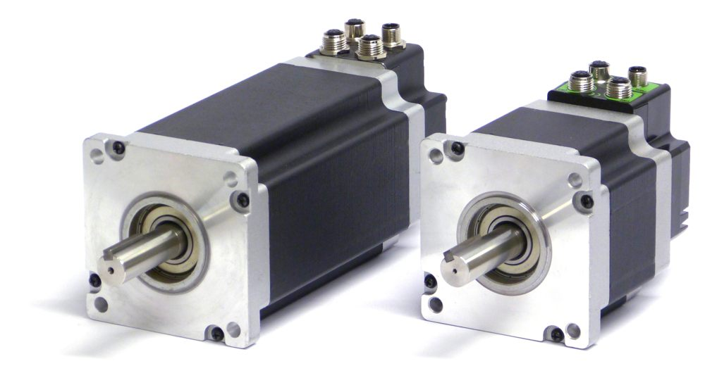 The QuickStep integrated stepper motors offer unique cost saving features
