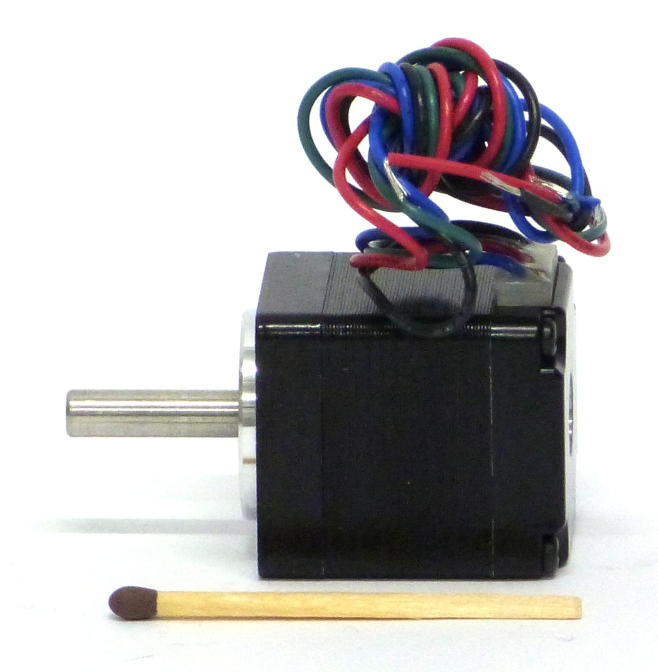 Inside look of a mini stepper motor from danish company JVL