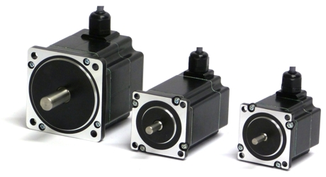 A series of step motors with IP65 or IP67 protection have been designed by JVL