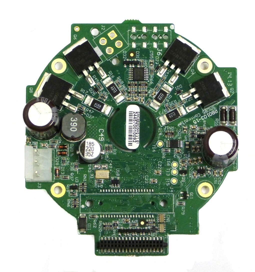 Stepper Motor Controller with PLC, CANopen and 8IO