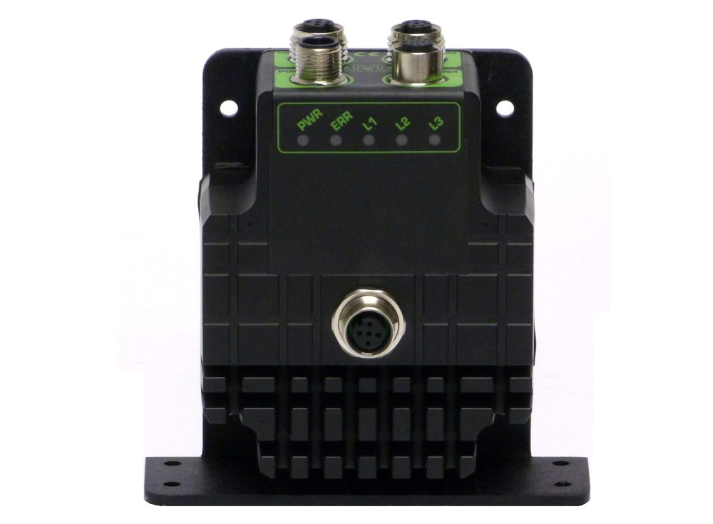 Stepper Motor Controller with PLC, CANopen and 8IO.