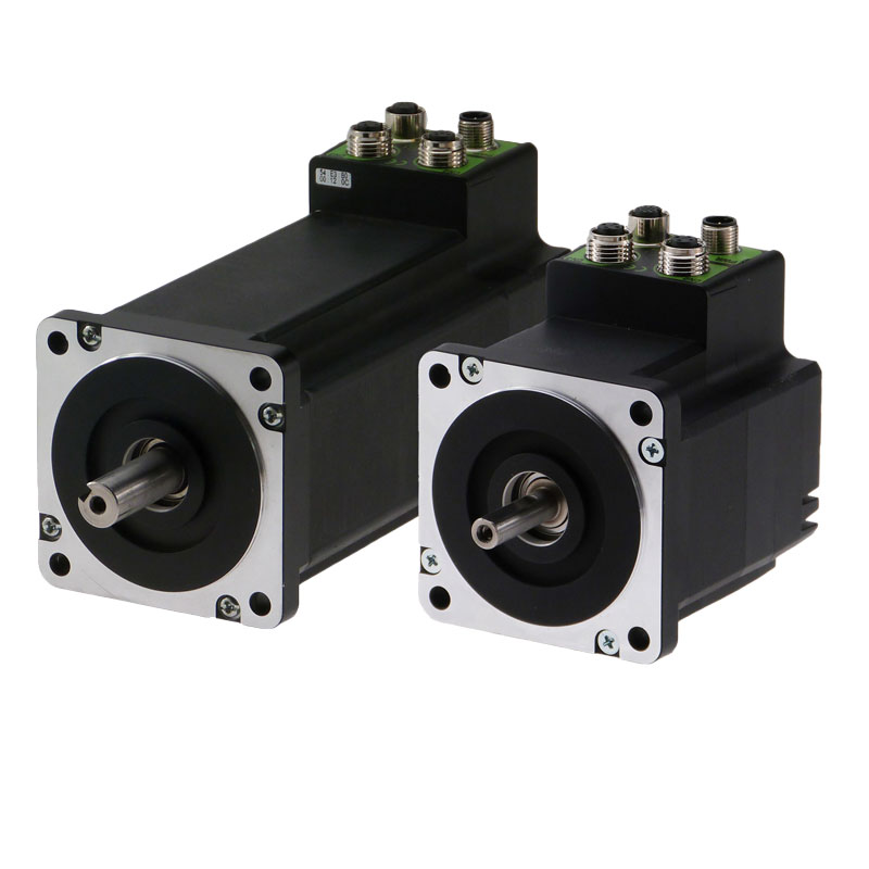MIS / Quickstep integrated Stepper Motors from JVL.