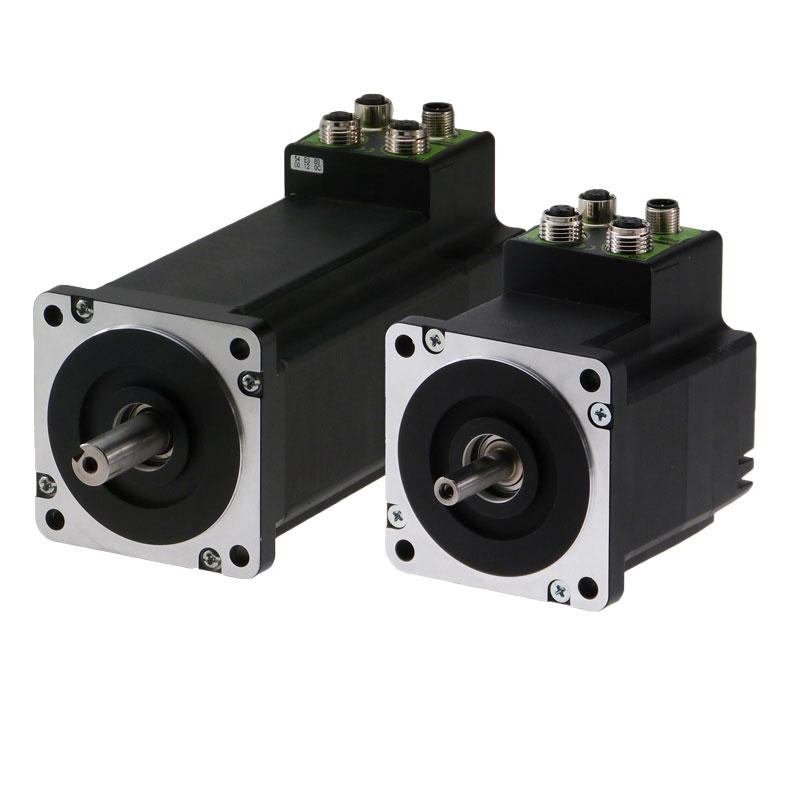 MIS / ServoStep integrated Stepper Motors from JVL.