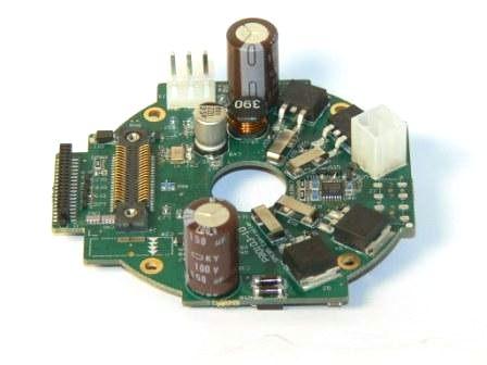 MIS integrated steppermotor developed by danish JVL industri elektronik.
