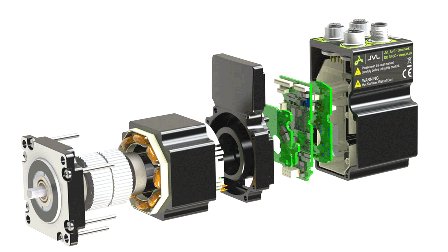 Latest in servo motors and stepper motors by JVL